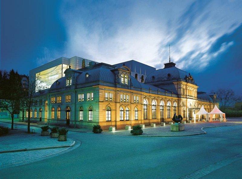 Enkelt parti i Baden-Baden
