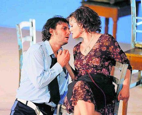 В роли Кармен с Хозе - Йонасом Кауфманном.  Цюрихская опера, июль этого...